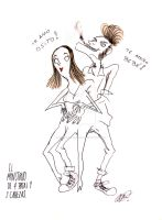 Couple Monster by DemonCartoonist
