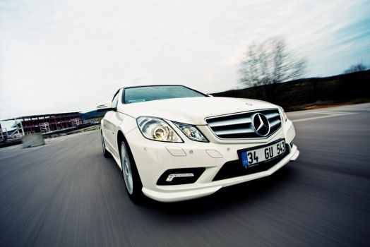 mercedes e250 speed motion by theprodiqy