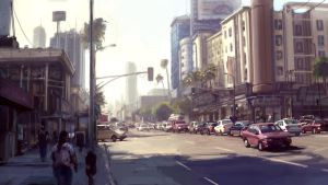 LA by flyingdebris