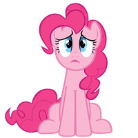 pinkie pie worry by freak0uo