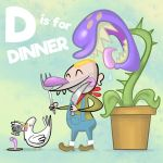 ALPHAMABET OF DANGEROUS - D is for Dinner by Cosmic-Brainfart