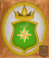 Coat of arms with 8 pointed star by PdictusMagister