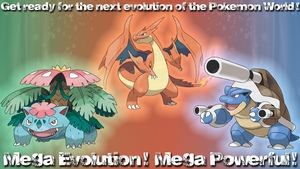 Mega Evolution - Kanto Starters by R-One-92