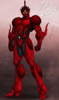 Crimson Guyver 2014 by Guyver89