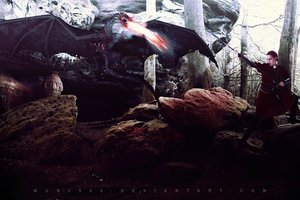 Rocks and Fantasy - Photomanipulation by Muns2500