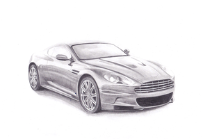 Aston Martin by YourBloodDay