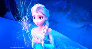 Elsa's Frozen Heart by PovedaM