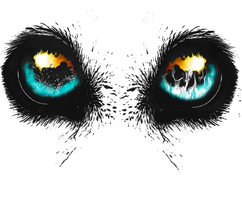 Eyes of an animal, help by BHvid