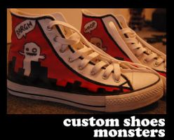 Shoes - Monsters by phraseuk