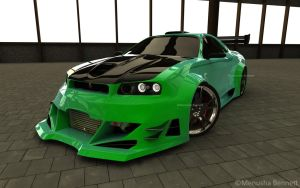 Nissan Skyline R34 Front by TheSaladMan