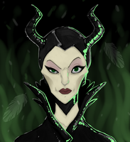 Maleficent by Welcoming-Meg