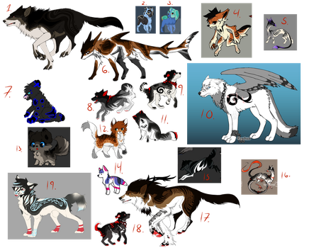 Reselling Adopts (4/19 Open) by HimeAdoptions