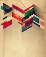Vintage Retro Geometric by abermals
