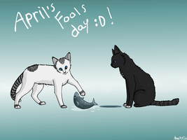 April's Fools day 8D by SilverMoonNightMist