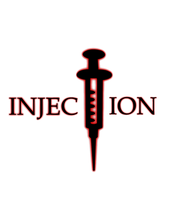 Injection logo project by LadyFromEast
