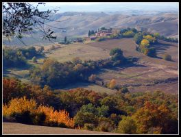Autumn in Tuscany II by kanes