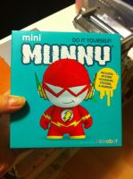 The Flash Munny box by GeekyPanda515
