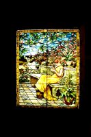 Tiffany Window stained glass by paintresseye