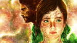 The Last Of Us - Joel and Ellie by p1xer