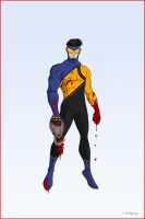 REDESIGN: INVINCIBLE by Toks-S