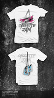 Cassette Jam Tshirts by The-Kiwie