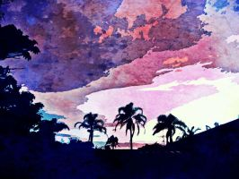 Stained Evening Sky by Serifer