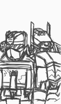 Soundwave and Shockwave sketch by The-Sound-of-Logic