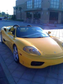 Ferrari at the Mall 2 by ZimTheHomicidal