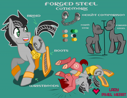 Forged Steel Reference Sheet Commission by ladypixelheart