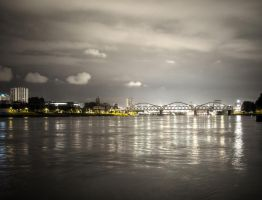 Rhine at night by Mecenetic