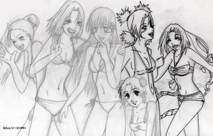 girls' holiday_sketch by giuly--chan