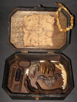 Skull Box VooDoo Spell Kit 2 by DETHCHEEZ