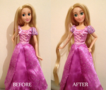 Rapunzel OOAK Doll by frozenblume