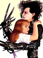 Edward Scissorhands by EclecticNinja