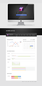 Admin Panel Dashboard by cm96