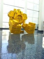 Blitzcrank Cosplay at AX 2012 by d-slim
