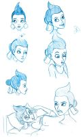 Franny Robinson Sketches by Aphius