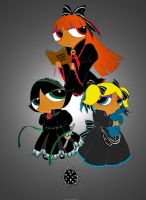EGL Powerpuff Girls by IllusionEvenstar