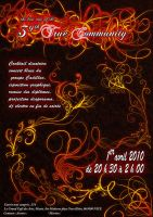 Affiche True Commnuity by etiark