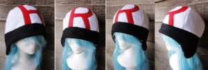 White Team Rocket Hat by akiseo