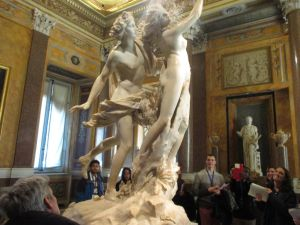Apollo and Daphne by Bernini, Galleria Borghese