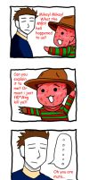 Nyoron Freddy and Mikey What by Karnickel