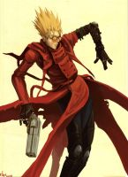 Vash the Stampede by Xialousi