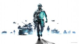 Battlefield 3 Wallpaper White 1080p by GuMNade