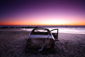Arson On The Beach by CainPascoe