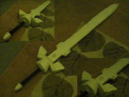WIP Master Sword Project 4 by DaffydWagstaff