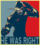 Cyclops Was Right Poster by jokerjester-campos