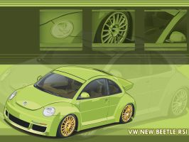 Green Beetle RSI - Wallpaper by bem69