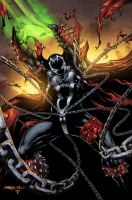 SPAWN with Jimbo Dan Prado and ME by juan7fernandez
