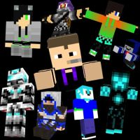 Me and My MANY Minecraft Friends by Forestarr